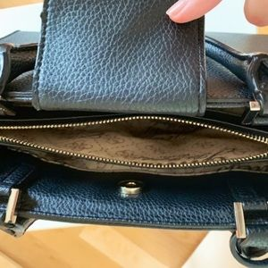 Guess Bags - GUESS Black Leather Handbag